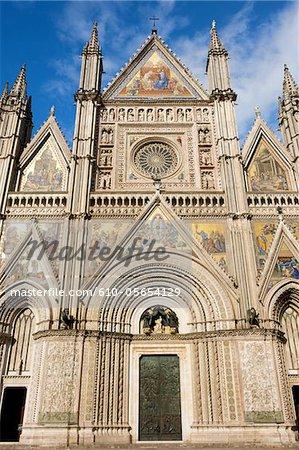 Italy, Umbria region, Orvieto, duomo