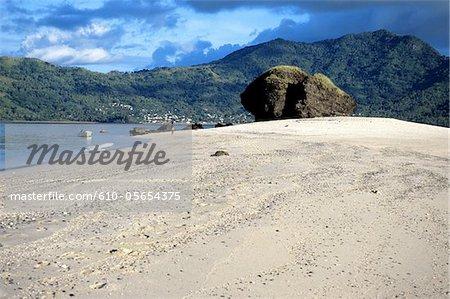 Mayotte, île Choisil, la plage