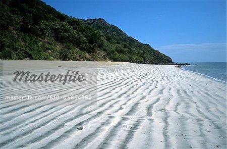 Mayotte, Mtsamboro, la plage