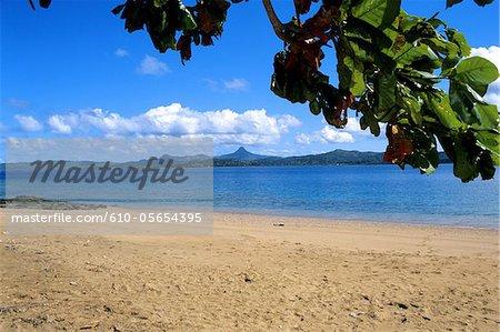 Mayotte, île Bandrele, la plage