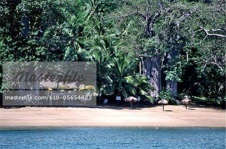 Mayotte, N'Gouja, la plage