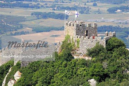 Portugal, Sintra municipality, Santa Maria e Sao Miguel, Castelo dos Mouro