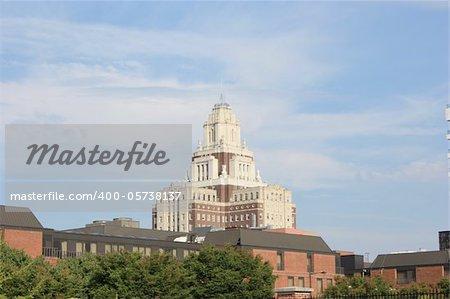Photo taken from the harbor of Philadelphia