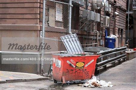 Dust on the streets of Philadelphia