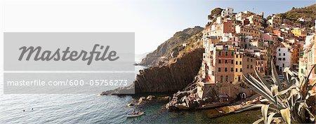 Riomaggiore, Cinque Terre, Province de La Spezia, Ligurie, Italie