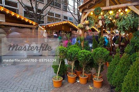 Brazennose Street Christmas Market, Manchester, England