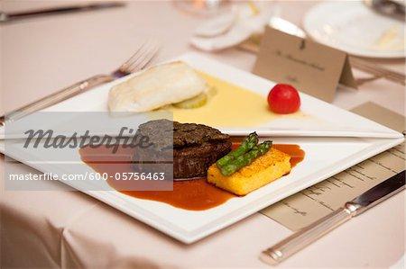 Black Cod and Beef Tenderloin