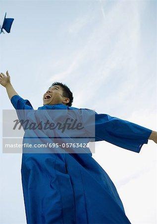 Cap lancer diplômé masculin