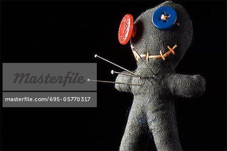 Utilisé comme poupée de coussin ou voodoo broche poupée
