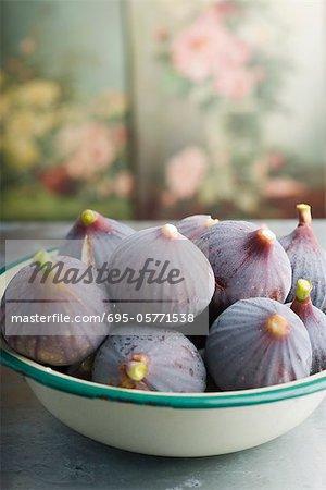 Bol de figues mûres