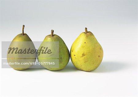 Drei Birnen