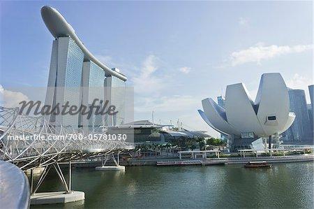 Marina Bay Sands et ArtScience Museum, Singapour