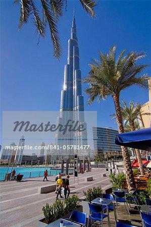 Burj Khalifa, Dubai, Émirats Arabes Unis, Moyen-Orient