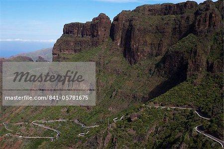 Berge in der Nähe von Masca, Teneriffa, Kanarische Inseln, Spanien, Europa