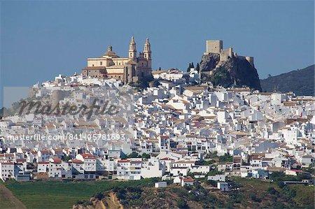 Olvera, Andalousie, Espagne, Europe