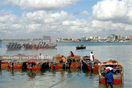Harbour, Dar es Salaam, Tanzania, East Africa, Africa