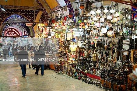 Grand Bazar, Istanbul, Turquie, Europe