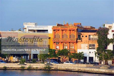 Vieille ville, patrimoine mondial UNESCO, Carthagène, en Colombie, en Amérique du Sud
