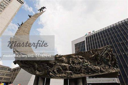 Monument, Medellin, en Colombie, en Amérique du Sud