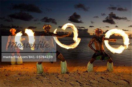 Fire Dance, Viti Levu, Fiji, Melanesia, Oceania, Pacific Islands, Pacific