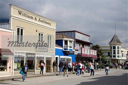 Broadway Street, Skagway, Southeast Alaska, United States of America, North America