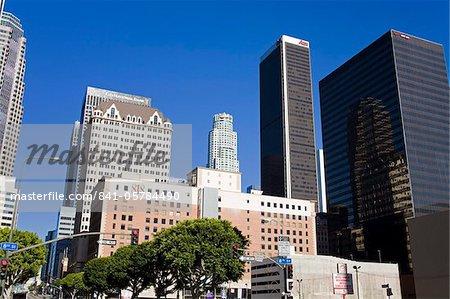 Gratte-ciels du centre-ville, Los Angeles, Californie, États-Unis d'Amérique, l'Amérique du Nord