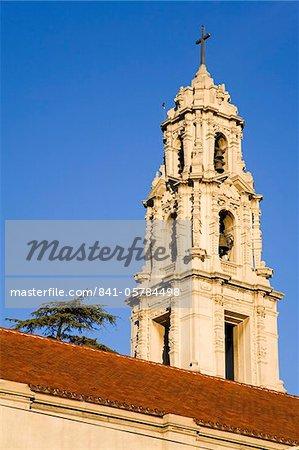 Première église congrégationaliste au centre-ville de Riverside, Californie, États-Unis d'Amérique, Amérique du Nord