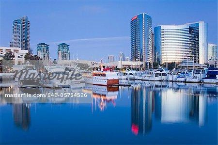 Embarcadero Marina, San Diego, Californie, États-Unis d'Amérique, l'Amérique du Nord