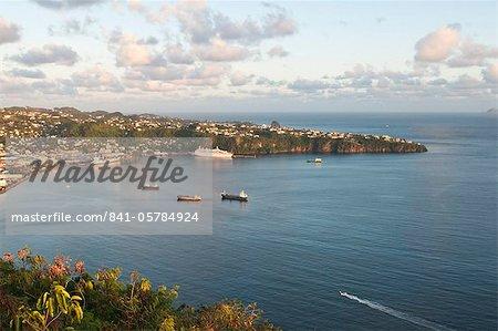 Boudicca, Fred Olsen Cruise Lines, Kingstown Harbour, St. Vincent, St. Vincent and The Grenadines, Windward Islands, West Indies, Caribbean, Central America