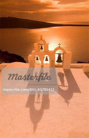 Oia, Santorin, Cyclades, îles grecques, Grèce, Europe
