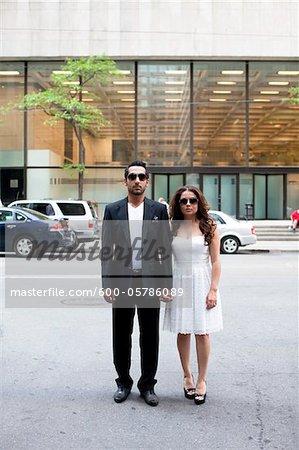 Portrait of Couple, Toronto, Ontario, Canada