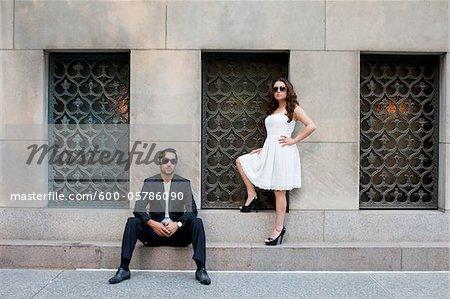 Porträt des Paares, Toronto, Ontario, Kanada