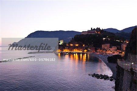 Monterosso al Mare, Cinque Terre, Ligurie, Italie