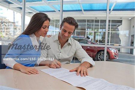 Homme et femme, documents de