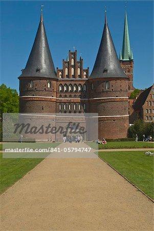 Holstentor, Lubeck, UNESCO World Heritage Site, Schleswig Holstein, Allemagne, Europe