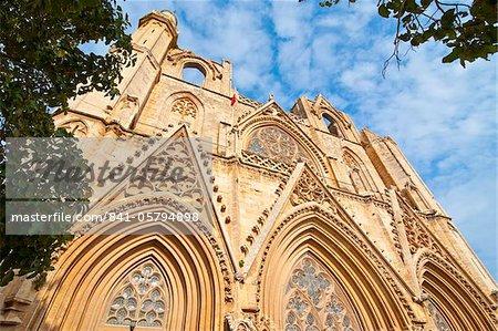 Partie turque de Lala Mustafa Pasa la mosquée, Famagusta, Chypre, Europe