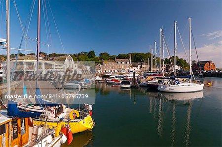 Port de Padstow, Cornwall, Angleterre, Royaume-Uni, Europe