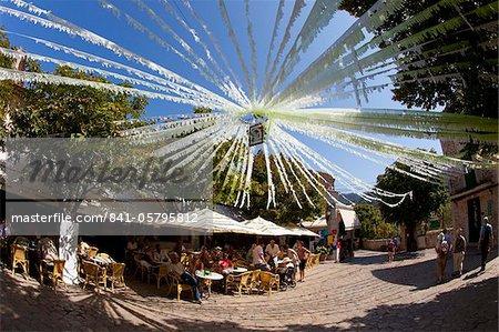 Ville de Valldemossa en été, Majorque, Baléares Îles, Espagne, Europe