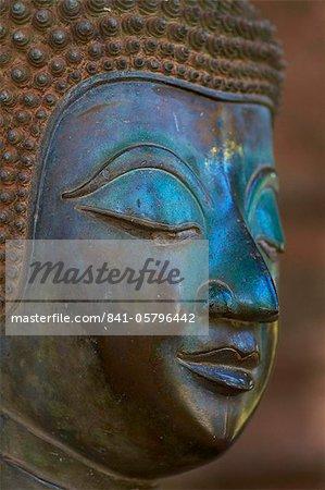 Statue de Bouddha, Haw Pha Kaeo, Vientiane, Laos, Indochine, Asie du sud-est, Asie