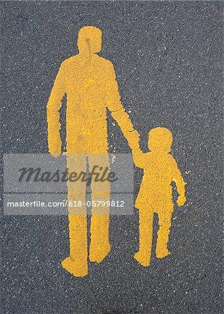 Fußgänger-Symbol