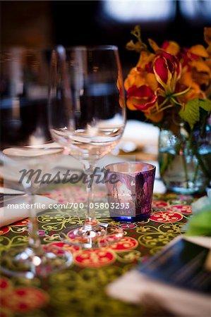 Tealight on Table