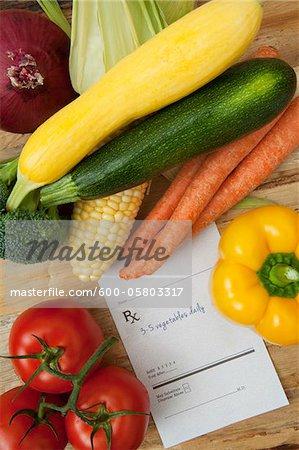Vielzahl von Gemüse und verschreibungspflichtige, Birmingham, Alabama, USA