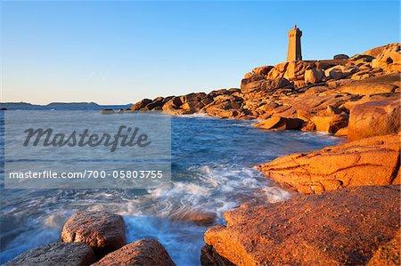 Lighthouse, Cotes-d'Armor, Bretagne, France