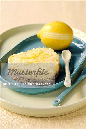 Leichte Zitronen-Käsekuchen