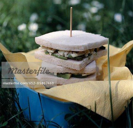 Avocat sanwiches