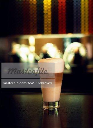 Café latte machiato