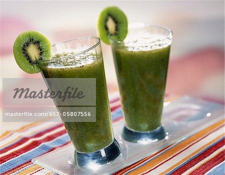 Smoothie de kiwi et de citron