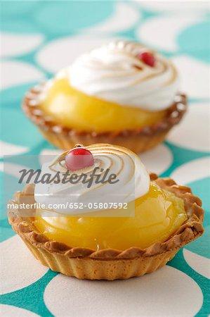 Tartelette de citron meringue