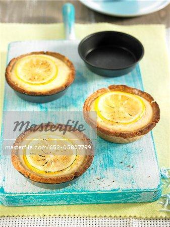 Tartelettes lemon curd