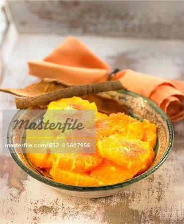 Salade de fruits orange et cannelle